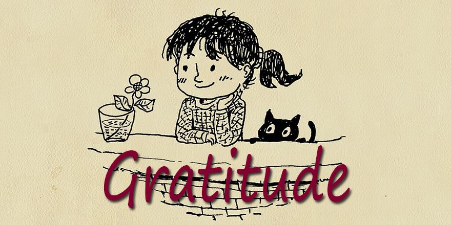 gratitude is a chosen response