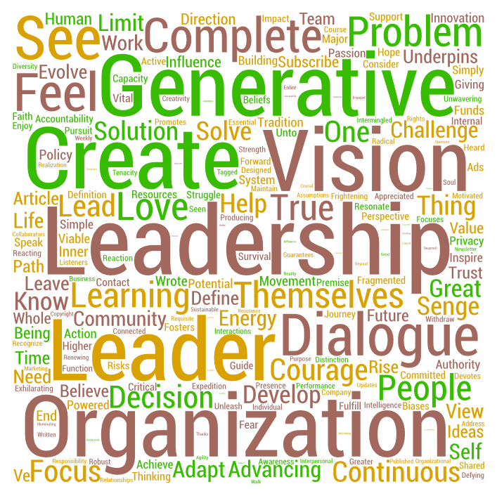 generative leadership